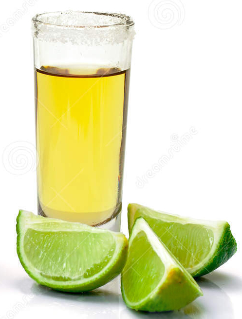 tequila one glass